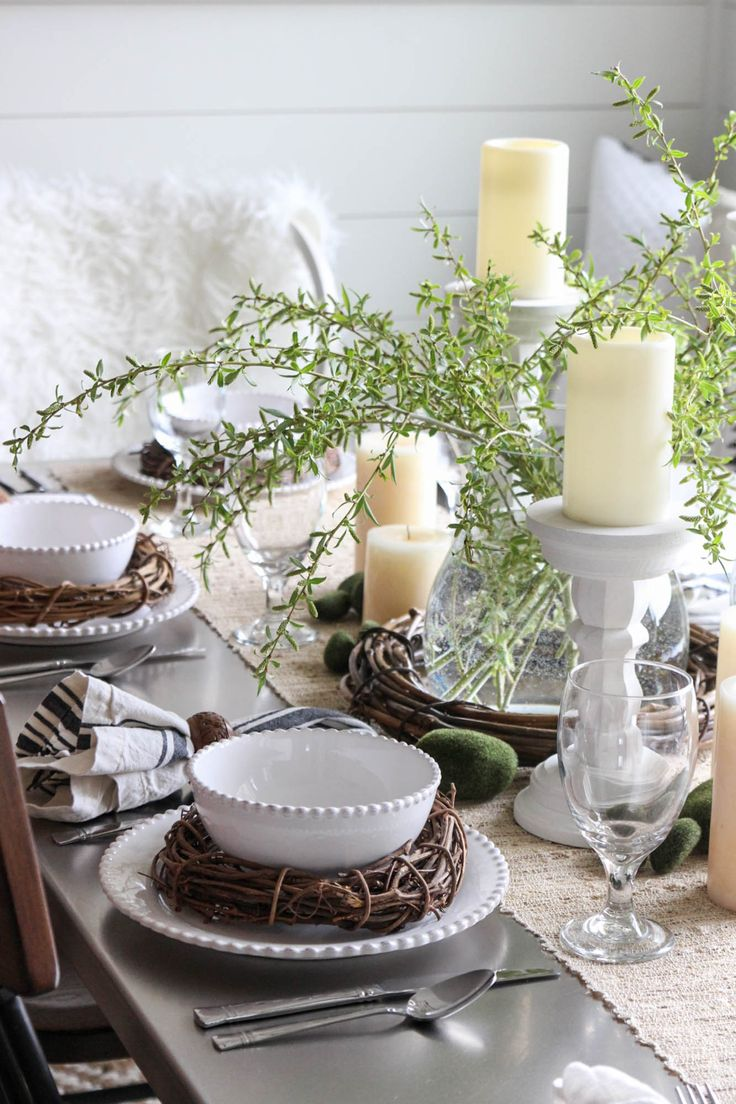 10 gorgeous christmas table decorating ideas 187 photo 2 - Setting The Table For Easter