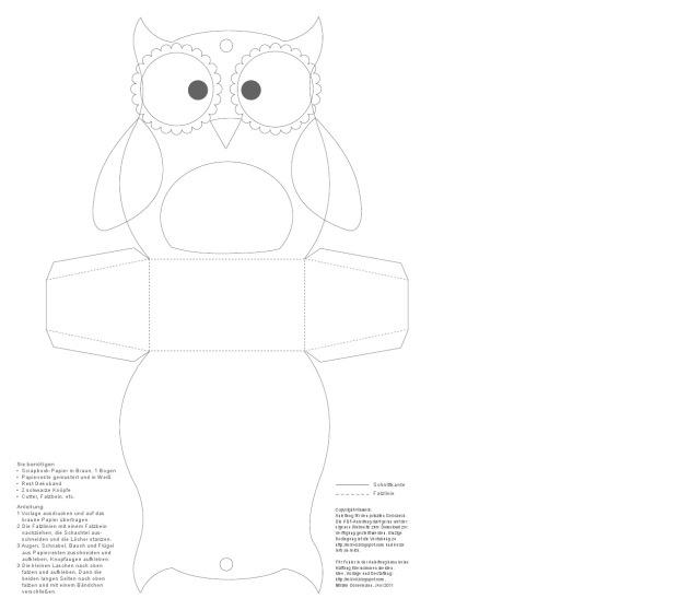 Paper Owl Teacher Gift   Inspired By Familia
