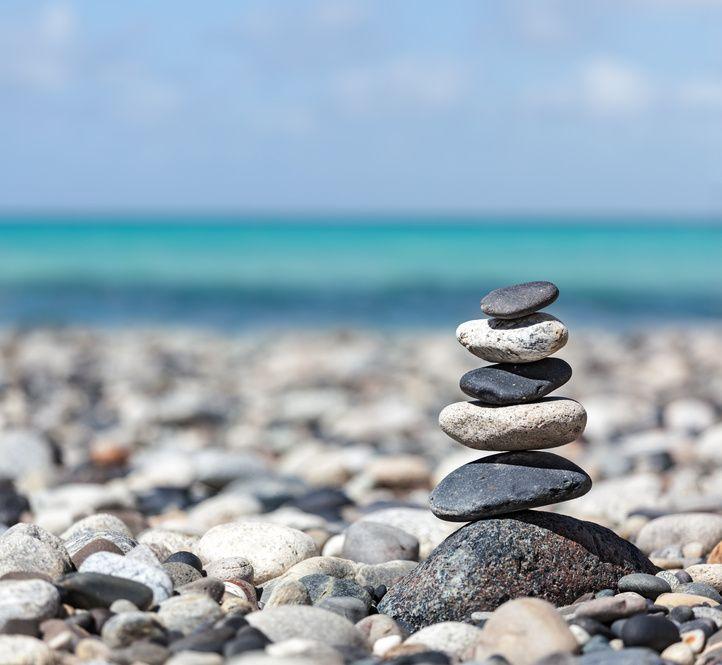 сила в спокойствии и в равновесии