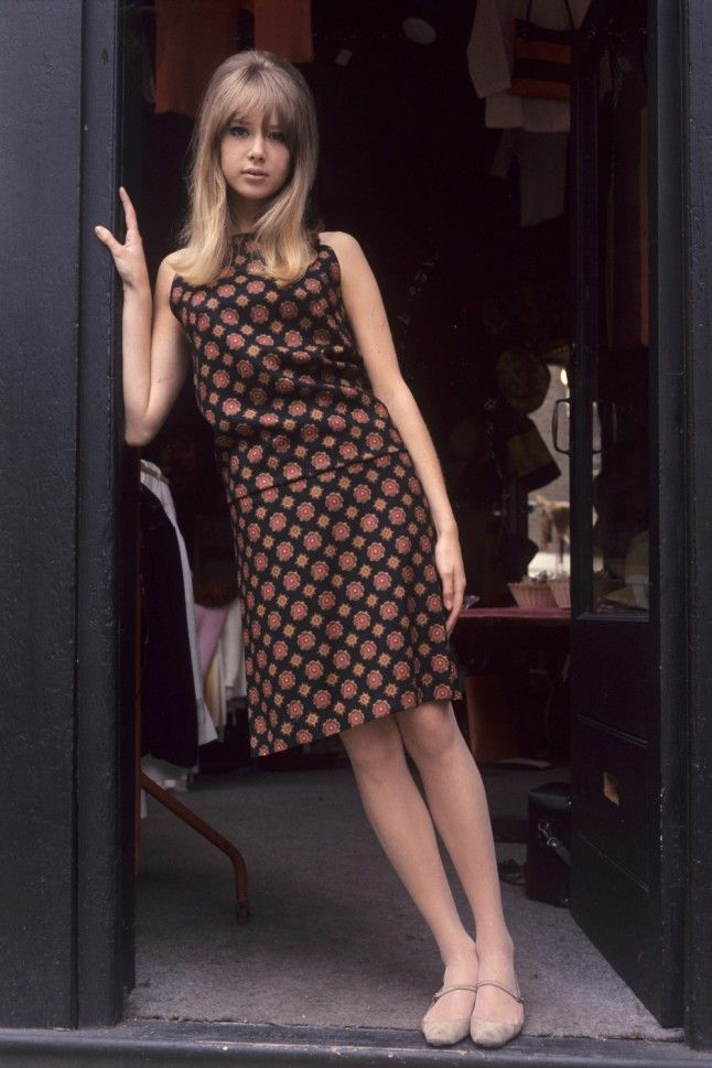 Patti Boyd's enchanting modish style, flippy hair, and endless legs ensured she was the inspiration behind some of the greatest hits of the 60s. The former wife of both Eric Clapton and George Harrison was the quintessential sixties beauty and a favourite of Mary Quant. Quite the unsung style hero of the decade…
