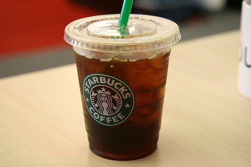 Starbucks Testing Carbonated Iced Coffee and Tea