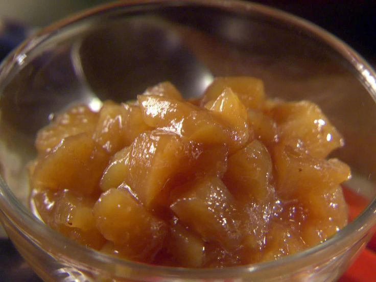 Apple Compote Recipe : Sunny Anderson : Food Network - FoodNetwork.com