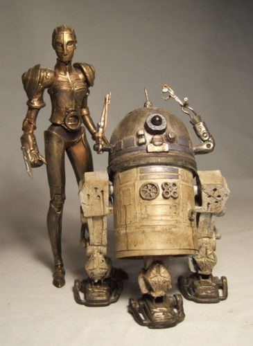 Star wars Steam Punk - May the 4th be with you.