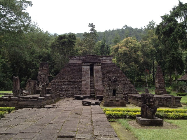 This photo of Candi Sukuh, was taken during my trip to Solo, Central Java - Indonesia.    For stories about my trip, please go to:    - Part One: http://wp.me/p1VkQt-tf  - Part Two: http://wp.me/p1VkQt-vS