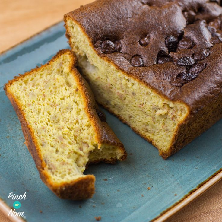 Low Syn Banana Bread with Chocolate Chips