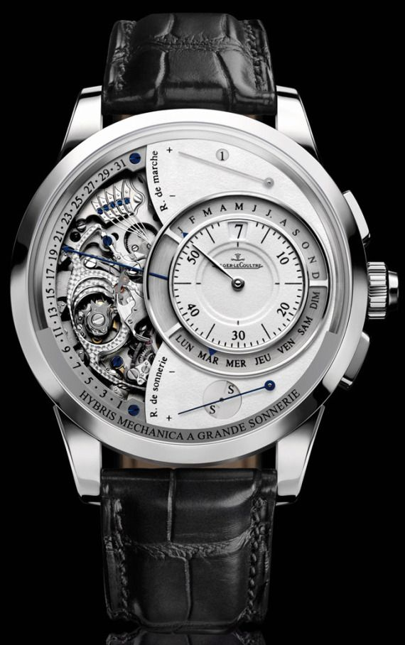 Jaeger LeCoultre Hybris Mechanica Grande Sonnerie, one of the most expensive watches...