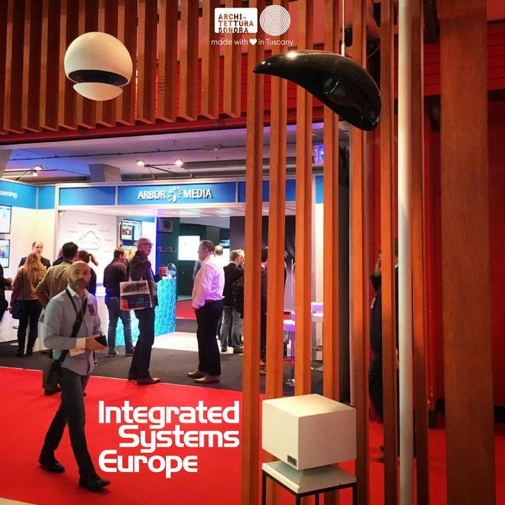 .. another amazing day at #ArchitetturaSonora's booth at #ISE2017. Do not miss out all the new products we just launched... come visit us tomorrow in Hall3 booth C100.