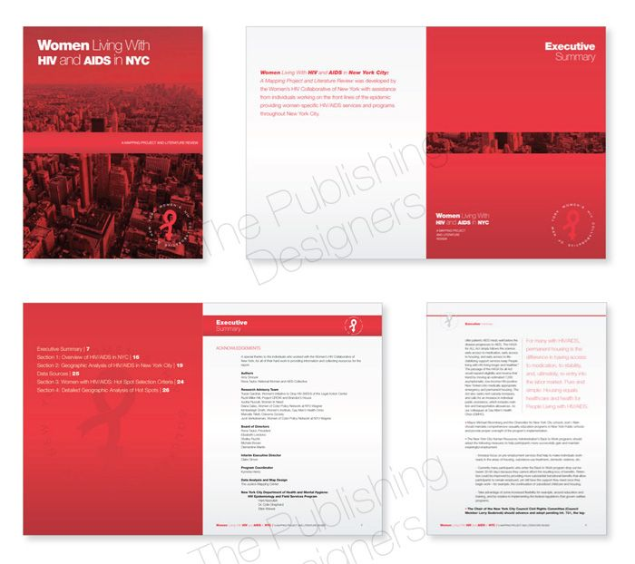 research report design