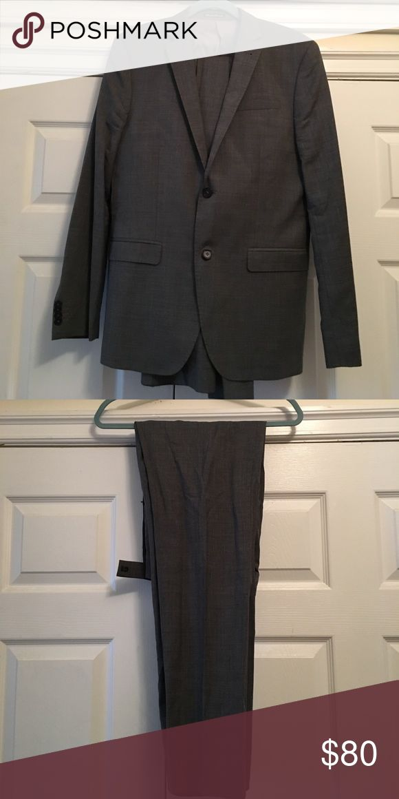 2nd hand Men's Grey Suit Grey suit with jacket lining, great condition and rarely worn H&M Suits & Blazers Suits