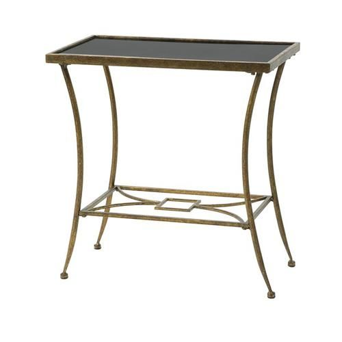 Clayton Marble Tope Side Table