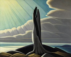 North Shore, Lake Superior by Lawren Harris, 1926 | National Gallery of Canada, Ottawa