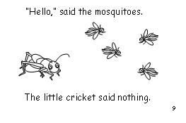 "Emerging reader ""The Quiet Cricket"" at makinglearningfun.com"