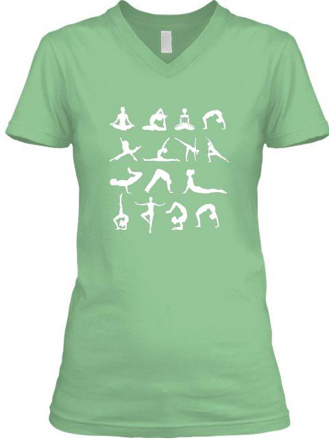 Asana Yoga Lover Poses Love Yoga T Shirt Leaf  T-Shirt  Yoga t-shirt, heather gray t-shirt, women's t-shirt, gray tee, Yoga, Yoga shirt, Yoga tee, Yoga Clothing. Great Christmas or birthday gift for yoga lover, teacher and instructor.   yoga tshirt, yoga shirt, funny shirt, yoga t shirts. Great Christmas or birthday gift for yoga lover, teacher and instructor. namaste, breathe: inhale exhale, exercise, asana, meditation, pranayama.          yoga shirt,yoga shirts for women.