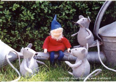 Grethilde: Pinkeltje en de muisjes