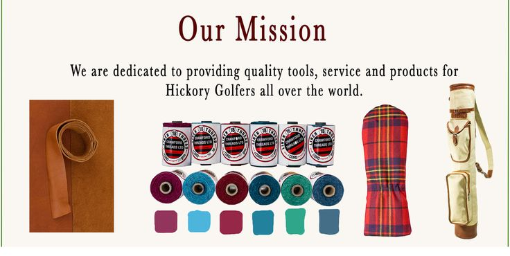 Hickory Golf Workshop and web shop. Grips