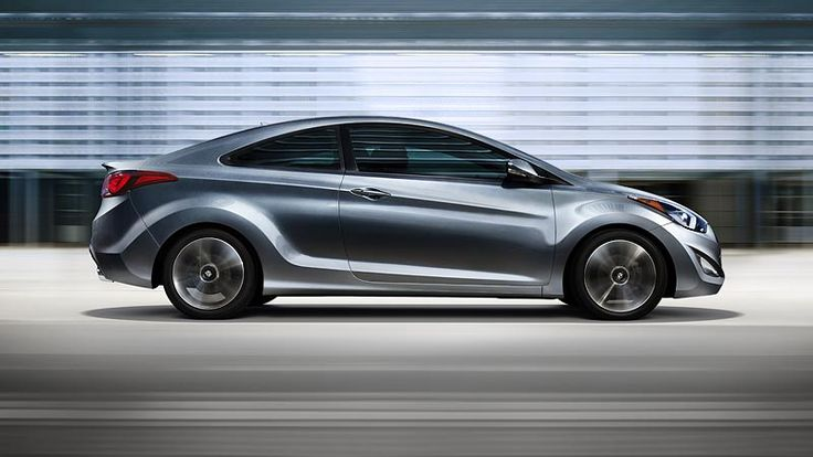 2014 ELANTRA COUPE IN SHIMMERING SILVER