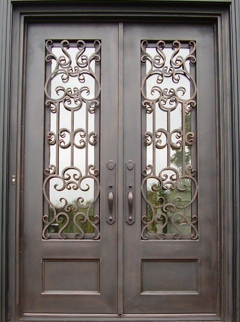 Double Front Doors Lets Build A House Pinterest