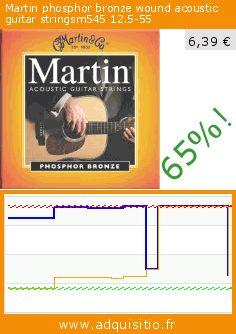 Martin phosphor bronze wound acoustic guitar stringsm545 12.5-55 (Appareils électroniques). Réduction de 65%! Prix actuel 6,39 €, l'ancien prix était de 18,21 €. https://www.adquisitio.fr/martin/phosphor-bronze-wound-3