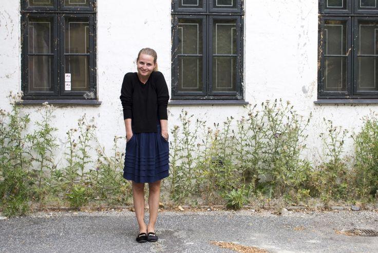 Cindie wearing Rützou AW13 skirt