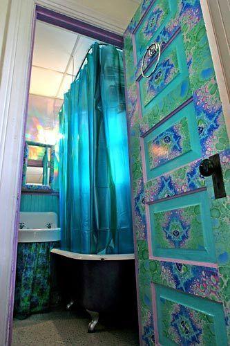 Teal blue turquoise bohemian style decor HomeDecor