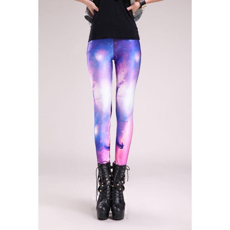 Sexy Stretch bedruckte Leggings Galaxy Motiv #Stretch #Leggings #Leggins #Legings #Legins #Galaxy #Motiv #Motivlegging #Hose 16.90 EUR inkl. 19% MwSt. zzgl. Versand