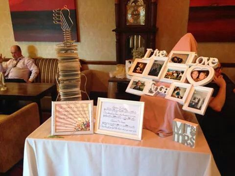 my favours- cd with a song from every year since we have been together & our first dance