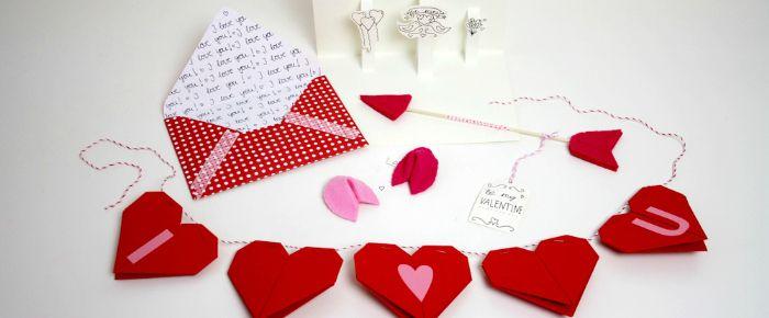 5 DIY's zum Valentinstag // DIY's valentine day via blog.dawanda.com