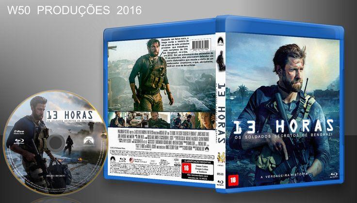 13 Horas - Os Soldados Secretos De Benghazi (Blu-Ray) - ➨ Vitrine - Galeria De Capas - MundoNet | Capas & Labels Customizados