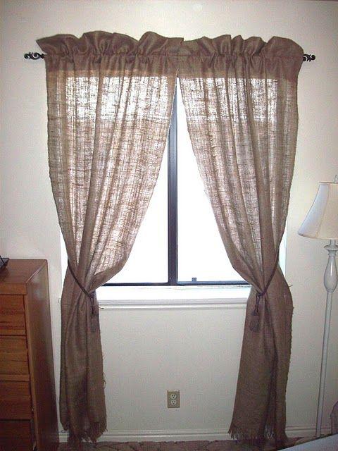 Farmhouse Nursery Curtains