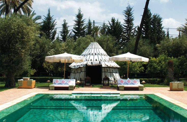 Ezzahra, Morocco - Sleeps up to 14. Situated in the great oasis of the Palmeraie, Villa Ezzahra is designed to offer its guests all the intimacy of a private country house, with the exceptional service of a luxury hotel.