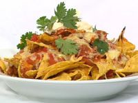 Are we able to make Mexican food healthy? I can't wait to make these vegetarian nachos!