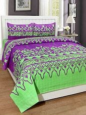 Trendz Home Furnishing Printed Double Bedsheet With 2 Pillow Covers - Online Shopping for bed sheet sets #DoubleBedSheets