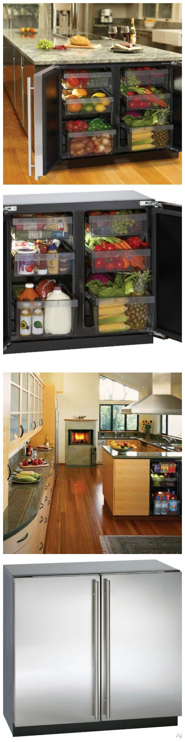 #Innovative #Undercounter #Refrigerator #kitchen #fridge #decor #interior #design #home #house
