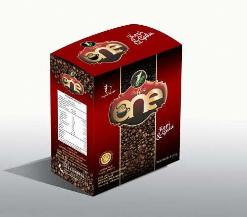 Coffee One - Kopi Gula Dengan bahan baku Kopi Hitam. Kopi tanpa bahan campuran