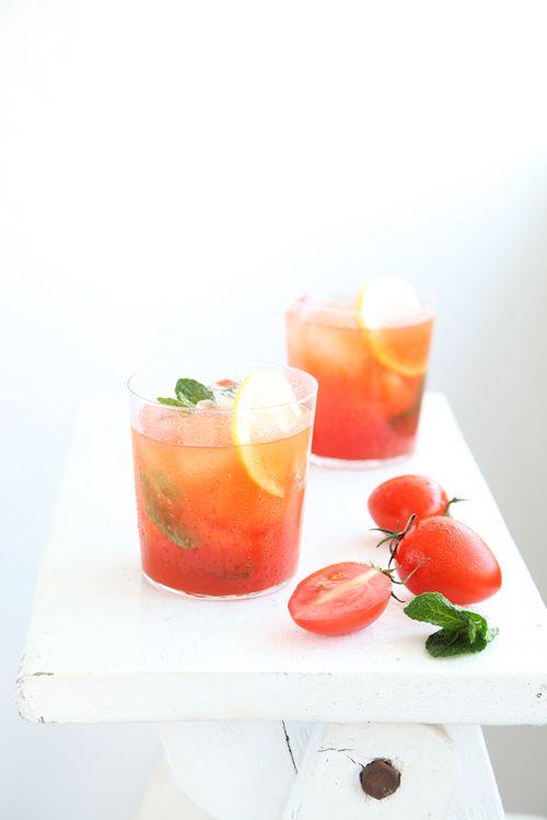 Iced Tomato Juice