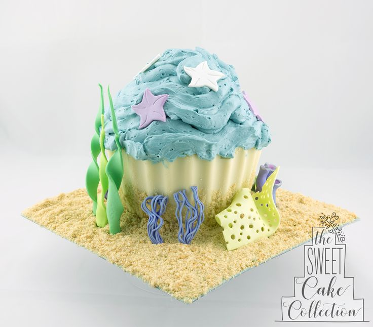 Under the Sea Giant Smash Cupcake