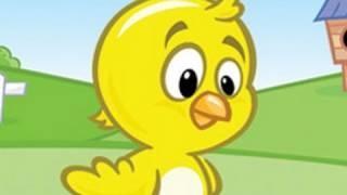 Pollito Amarillito - Video de Canción infantil para tu bebé y tu hijo, via YouTube.