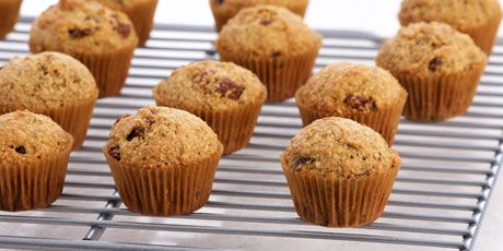 Healthy Bran Mini Muffins, by Anna Olson