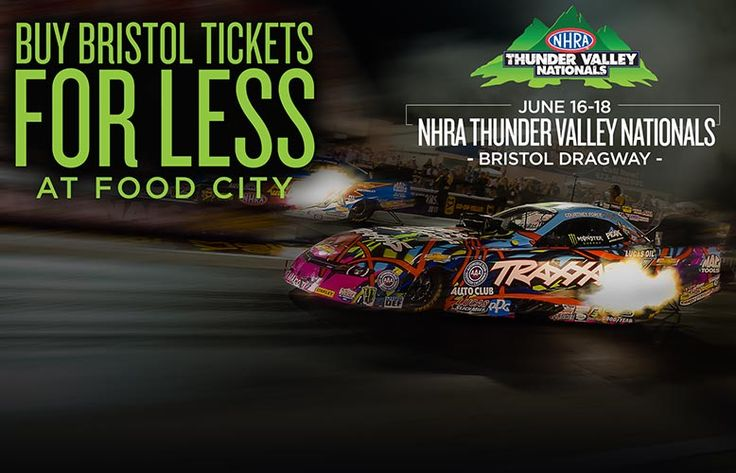 Food City and Bristol Motor Speedway Partner Again for In-store Value Race Ticket Program