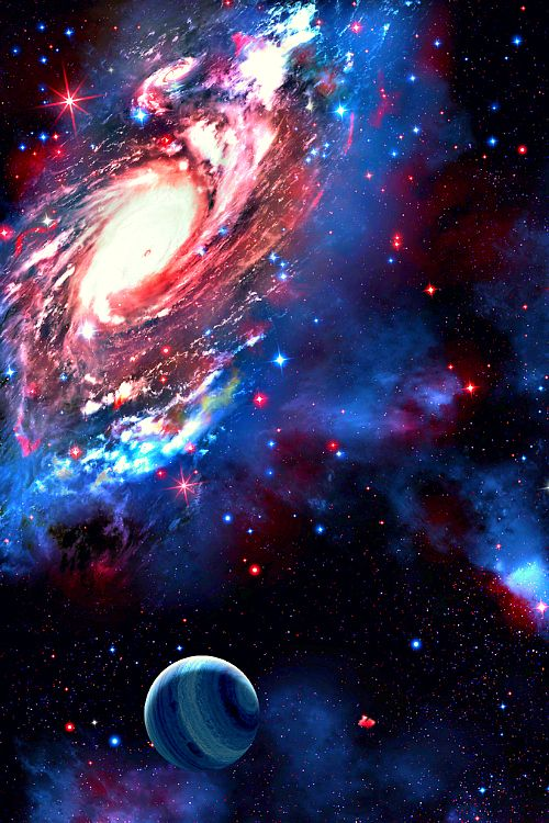 Astronomy outer space space universe stars planets galaxies space planets outer space - Galaxy and planets ...