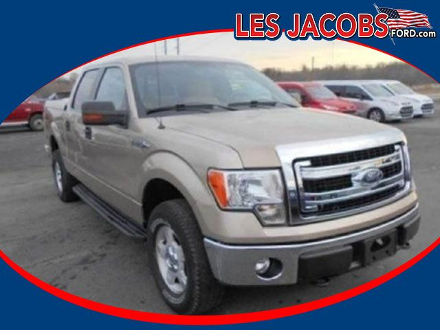 8046 – 2014 #Ford #F-150 XLT Crew Cab 4WD – Pale Adobe Metallic with Pale Adobe, V-8 5.0L, Auto, ARE Hard Tonneau Cover, Power Seat, Tilt/Cruise, Power Windows, Mirrors and Locks, Local Trade In! #Used #Cars #Cassville, #MO