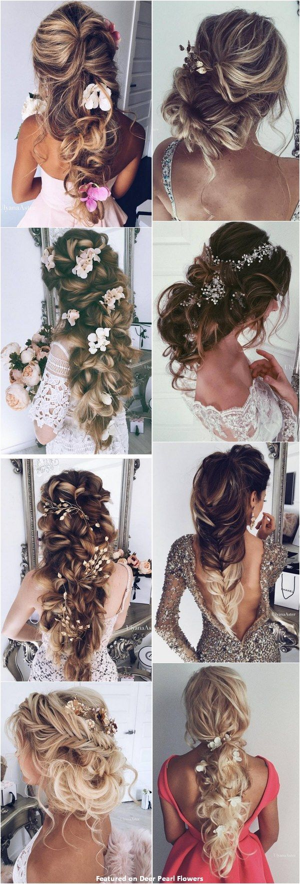 65 New Romantic Long Bridal Wedding Hairstyles to Try / Ulyana Aster