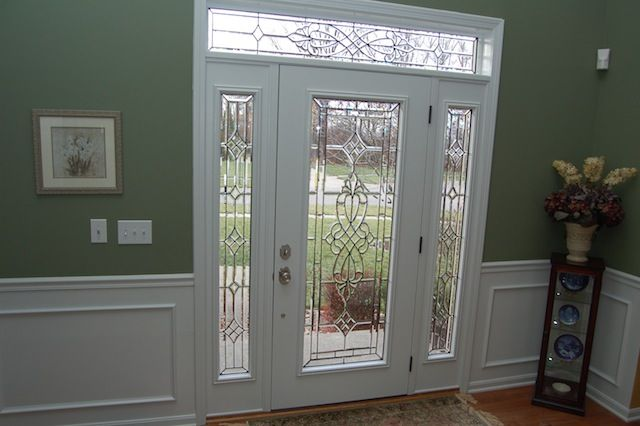 17 best images about front door on pinterest dark stains for Front doors that let in light