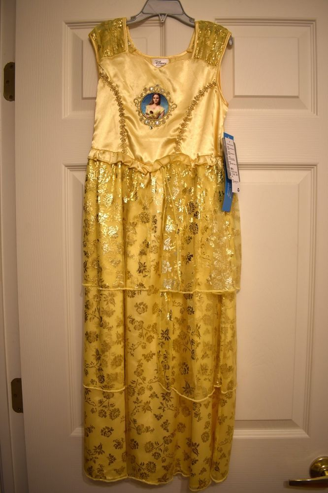 ae7e3fdf7395 Disney Store Princess Belle Deluxe Nightgown Beauty and the Beast Size 7 8   fashion  clothing  shoes  accessories  kidsclothingshoesaccs ...