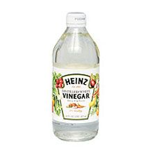 Use white vinegar to terminate weeds on your patio, driveway, or sidewalks...