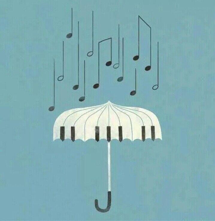 Music and rain