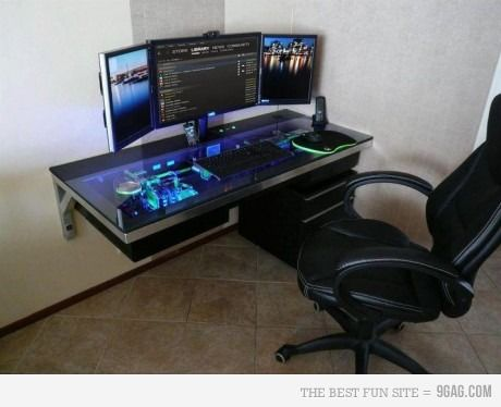 Best 20+ Cool computer desks ideas on Pinterest | Gaming computer desk,  Gaming computer and Gaming desk