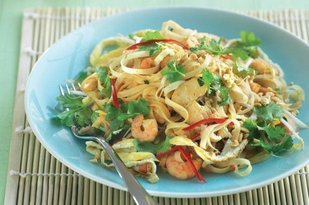 Get out the chopsticks and dive into a bowl of authentic tasting Pad Thai.