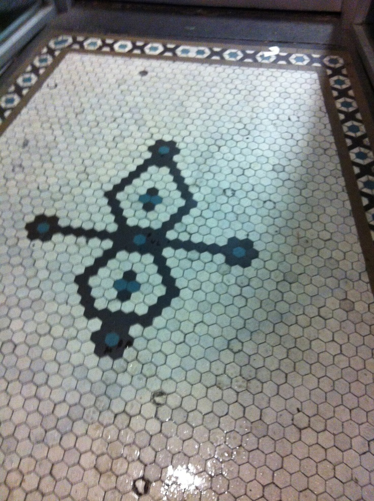 Bathroom floor...