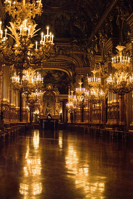 For your next Ball, Julie! Le Grand Foyer de l'Opéra Garnier | Flickr - Photo Sharing!
